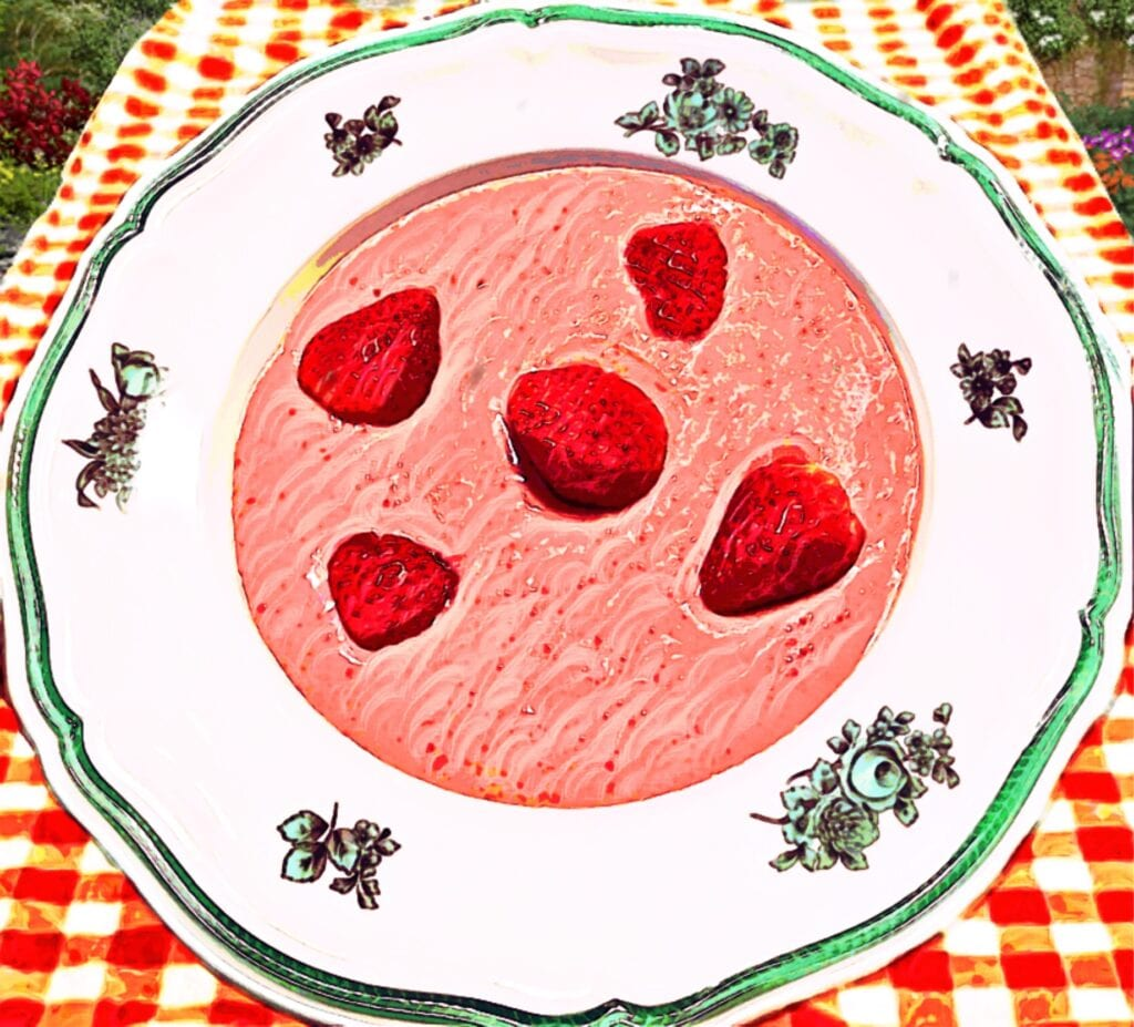 Cold Berry Soup