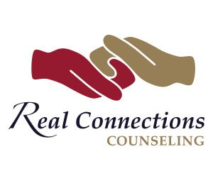 Real Connections Counseling Rectangular Logo